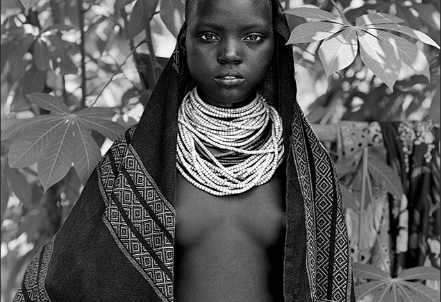 Indigenous cultures represented by this young Karan woman