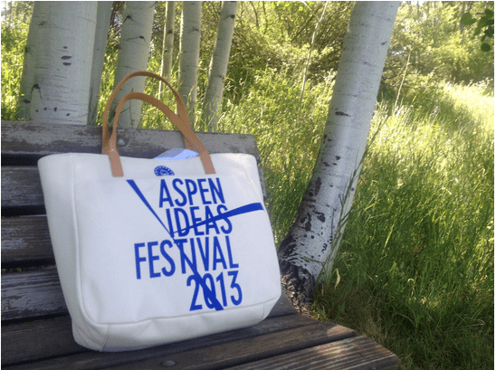some positive notes of the Aspen Ideas Festival 2013