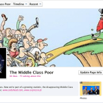 'The Middle Class Poor' facebook page