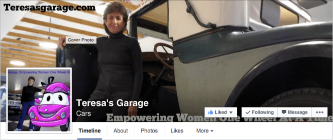 The Teresa's Garage Facebook Page