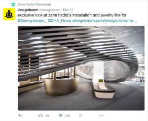 The Georg Jensen Installation of Zaha Hadid Jewelry