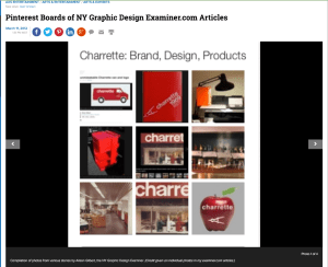 Charrette Branding Layout Compiled around 1982