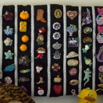 My decorative pins collection knolled and easy to find