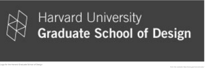 The Harvard Graduate School of Design Logo
