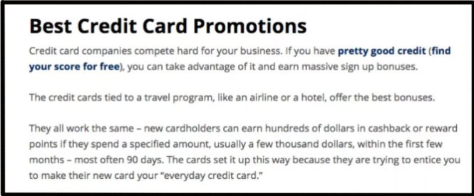 Extreme credit card benefits