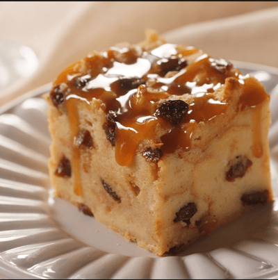 frugal bread pudding