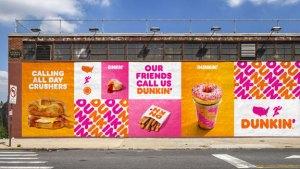 rebranding dunkin' donuts