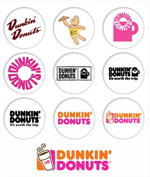 dunkin donuts rebranding program
