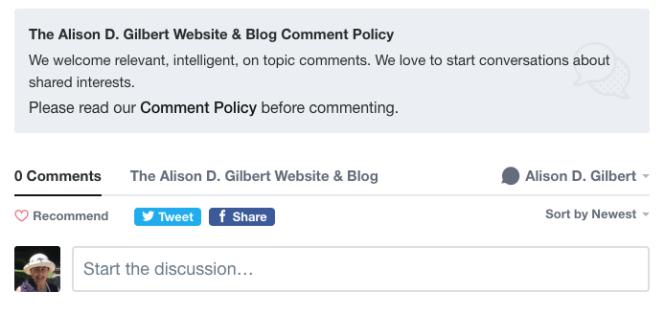 comment block