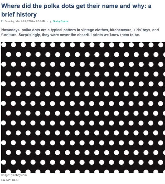 polka-dots-history
