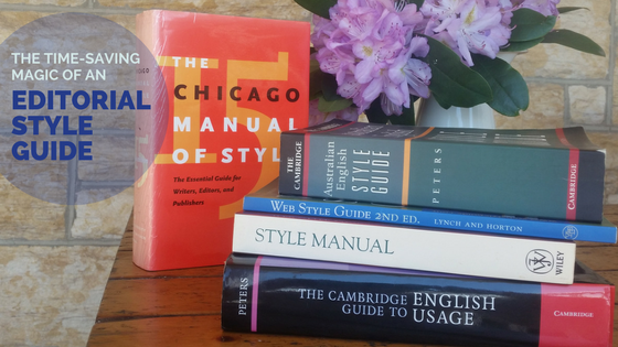 style guides for writers and editors
