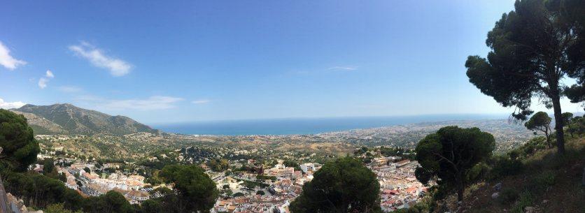 Mijas panoramic view