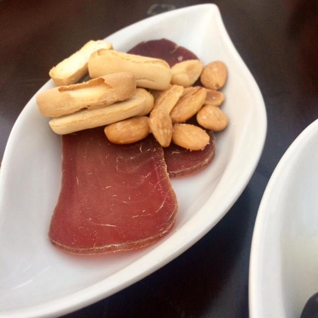 Smoked tuna from La Antigua Boedguita in Seville