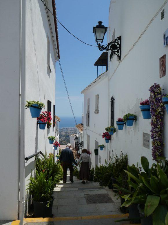 Village street scene