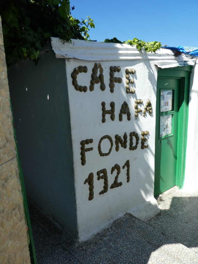 Cafe Hafa entrance