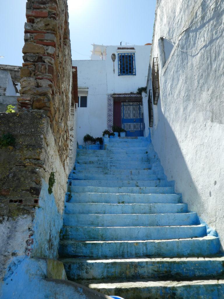 Kasbah stairway