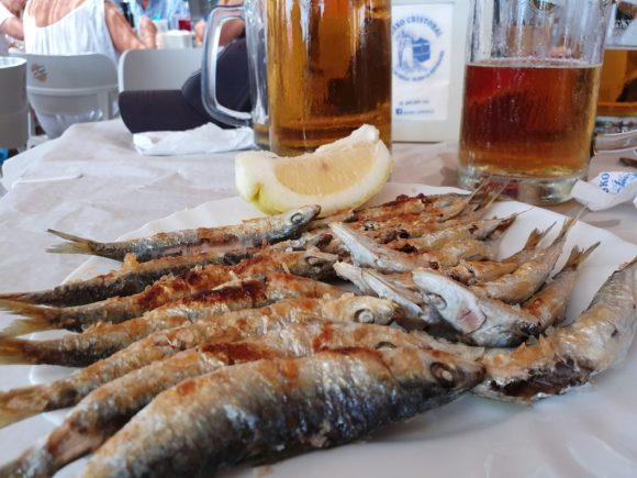 Plate of espetos