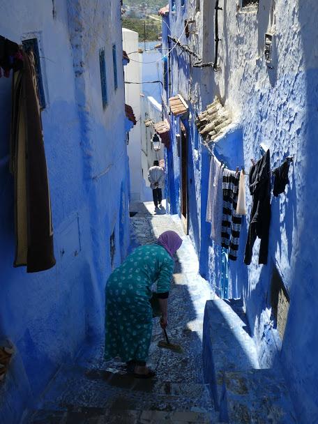 Chefchaouen alleyways