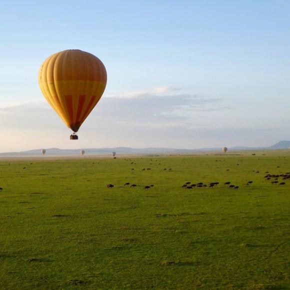 Hot air balloon Kenya