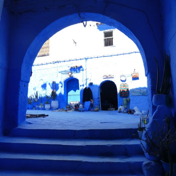 Archway in Chefchaouen medina