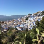 View of Chefchaouen from the Spanish Mosque