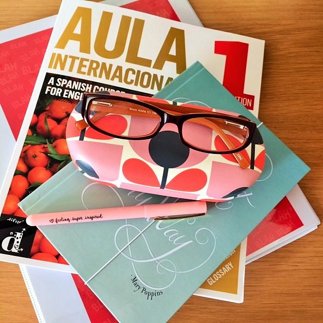 Spanish textbooks
