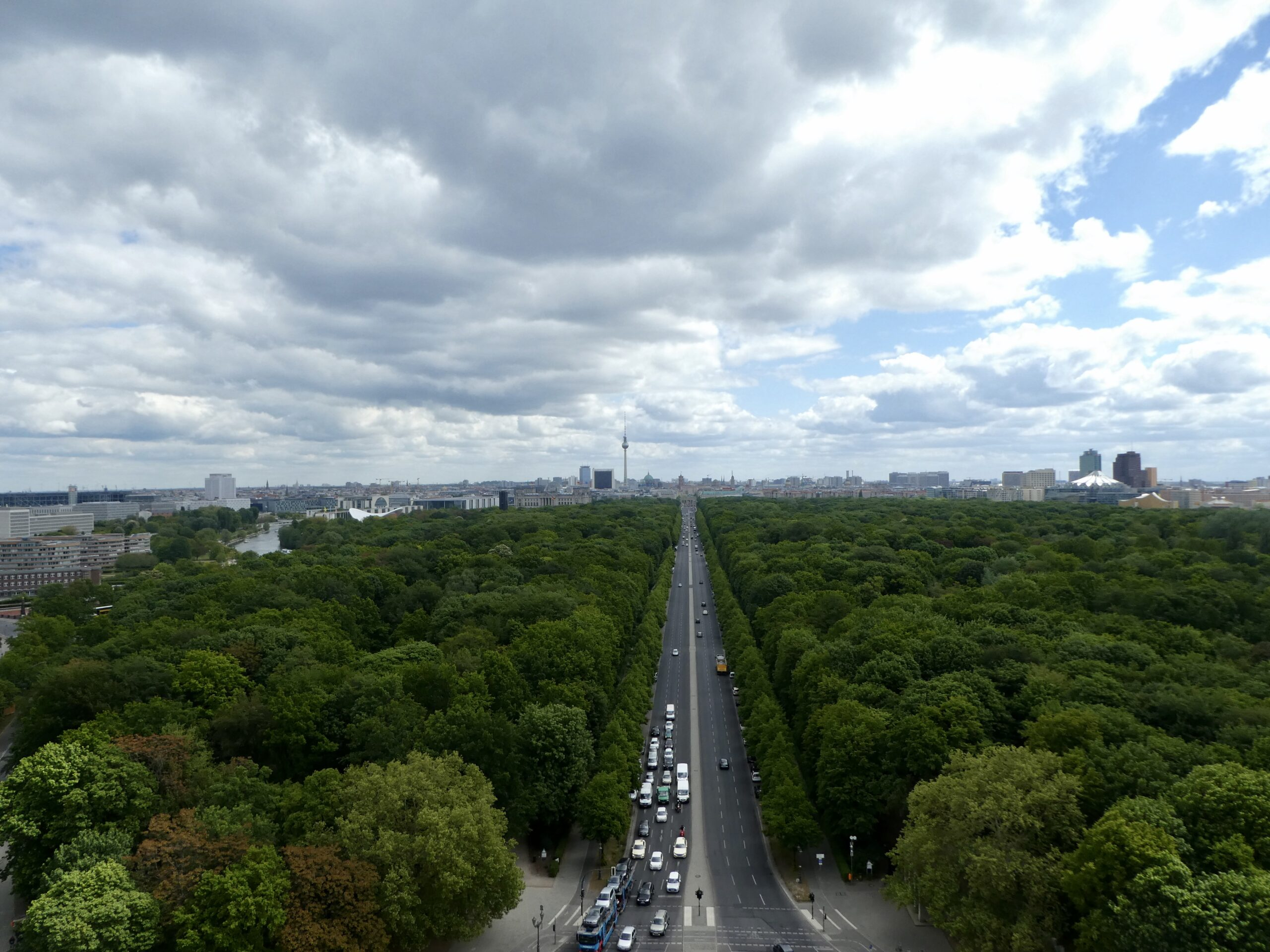 View from the Victory Column Berlin