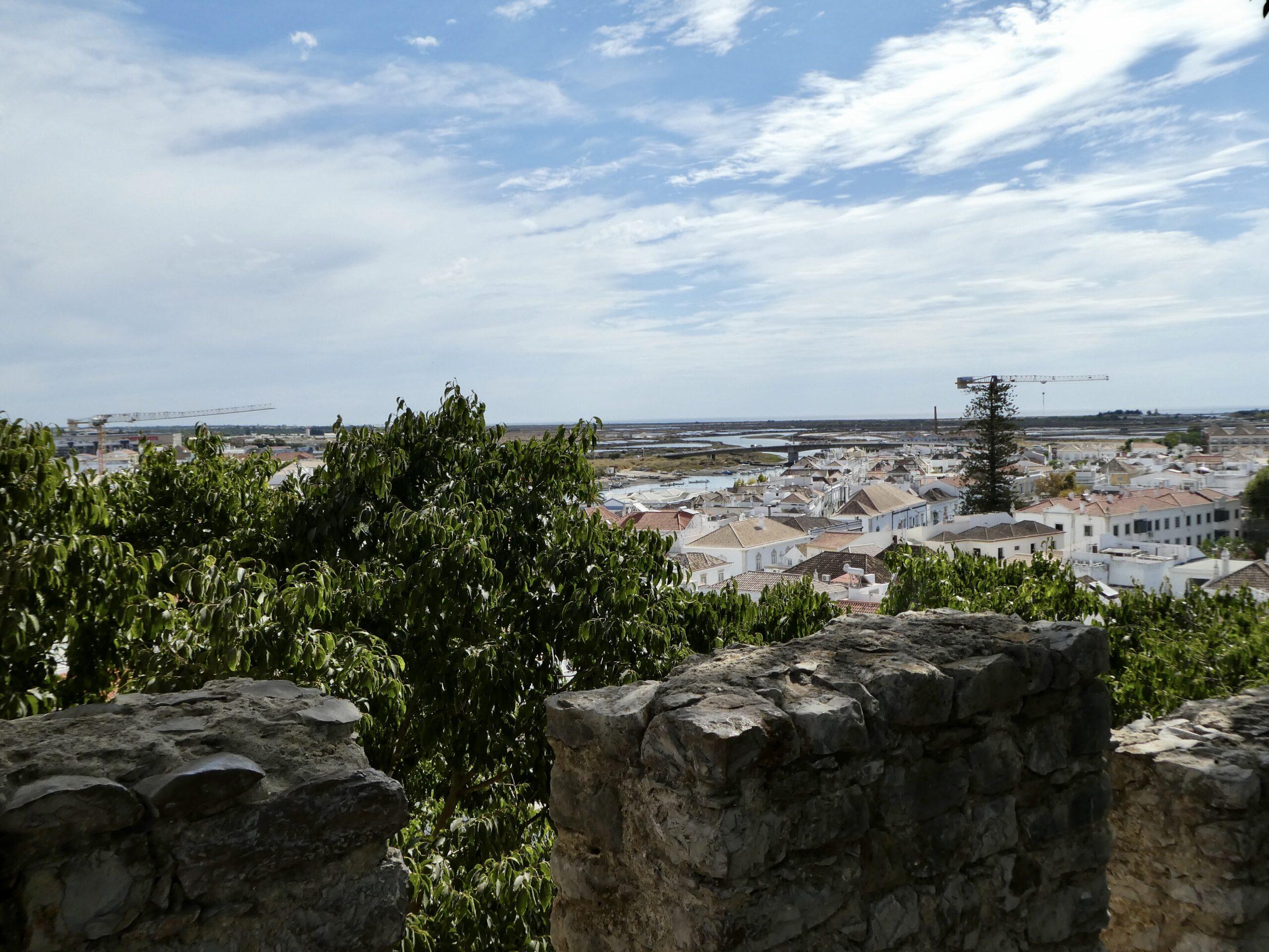 View from Castelo do Tavira