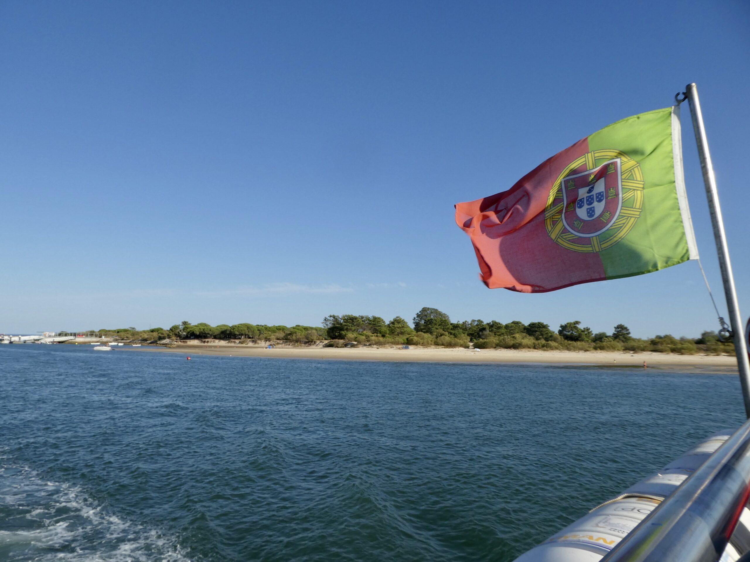 Ferry from Ilha de Tavira
