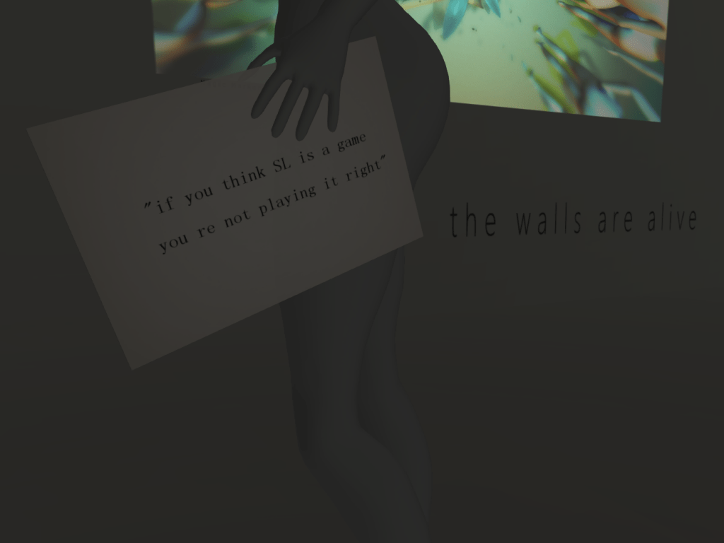 (SecondLife) An Outing to Ladies Room @ The Hills Gallery