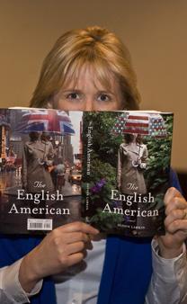 Alison Larkin reading her book