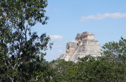 """Uxmal (OOSH-mahl) means """"'built three times"""" in the Mayan language, and though its name is a mystery, its beauty is not."""