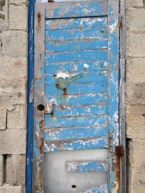 Blue Door with Key