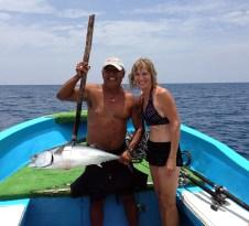 Fishing off Isla Mujeres