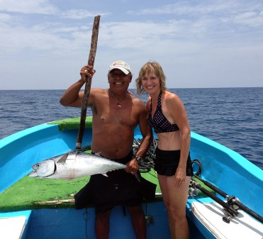Fishing off Isla Mujeres