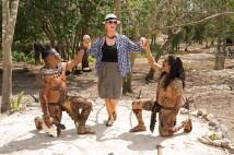 Princess Tina and the Mayan warriors
