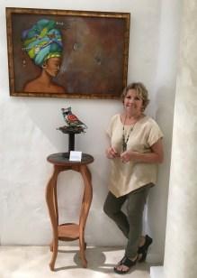 Artist Donna Spadafora