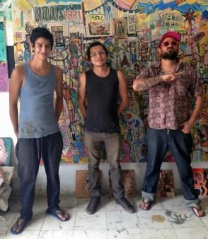 Los chicos malos! Pliego, Irvim and Juan Puebla
