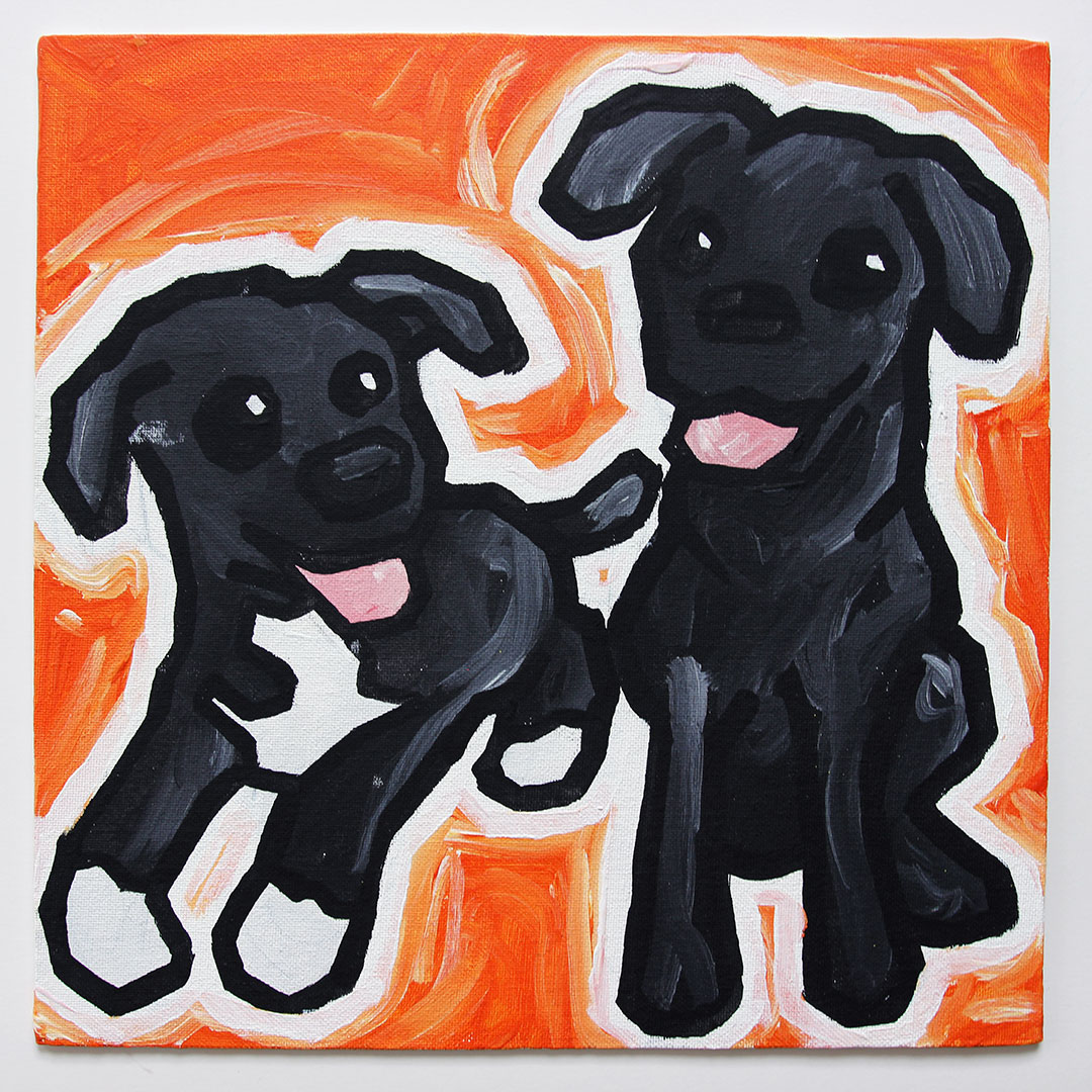 Two Dogs #9