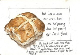05Apr12 hot cross buns ! by alissa duke