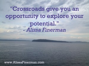 Crossroads as an opportunity
