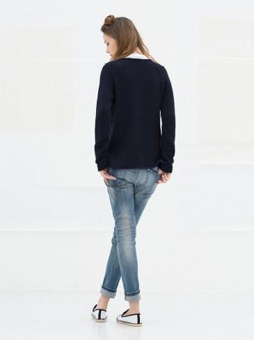 sustainable basic cardigan