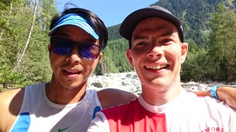 Day 6, August 27th - running around the trails and the track in Chamonix.