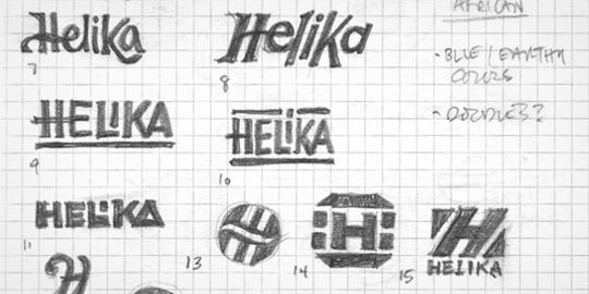 Bozze per Helika Logo