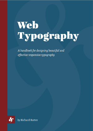 Cover of Web Typography