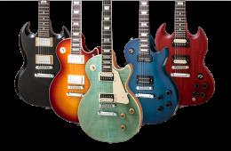gibson guitar header
