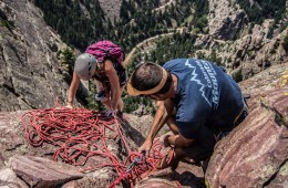 Colorado Mountain School Rock Climbing