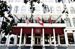 The Capital Hotel header