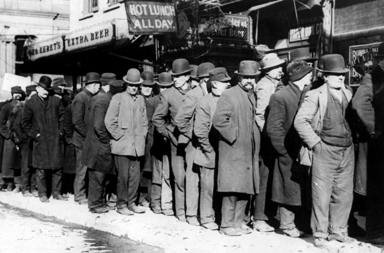 unemployment american economic revolution