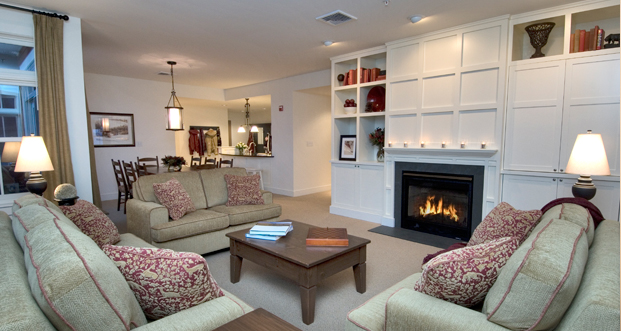 Two-bedroom suites at Clay Brook are perfect for families
